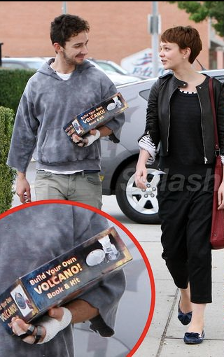 shia labeouf girlfriend carrie. Shia Labeouf Shops in a Hoodie